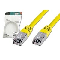 Digitus netwerkkabel: Patch Cable, SFTP, CAT5E, 15M, yellow - Geel