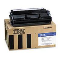 InfoPrint cartridge: 6000pages/5%cov Return black - Zwart
