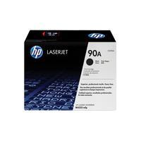 HP inktcartridges voor monochrome laserprinters 90A zwarte LaserJet toner (CE390A)