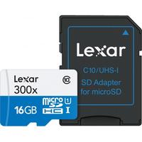 Lexar Sdhc Micro High Speed 16Gb 300X Class 10