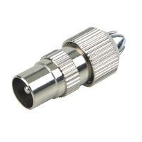 Schwaiger coaxconnector: KST15 531 - Zilver