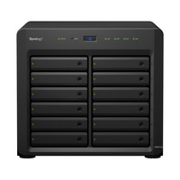 "Synology NAS: DiskStation DiskStation DS3617xs, Xeon D-1527, 2.2 GHz, 2x 8 GB DDR4 ECC SO-DIMM, 12x 3.5""/2.5"" SATA ....."