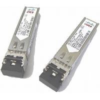 Cisco netwerk tranceiver module: 1/2/4-Gbps Fibre Channel-Shortwave, SFP, LC, Spare - Roestvrijstaal