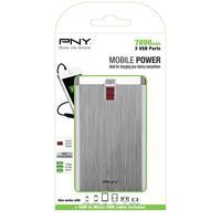 PNY batterij: PowerPack Digital 7800 - Aluminium