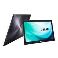 "ASUS ZenScreen MB169B+ 15,6"" FHD Portable Monitor - Zwart, Zilver"