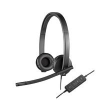 Logitech headset: H570e - Zwart