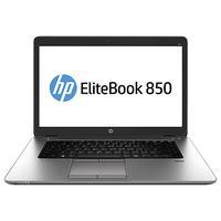 HP laptop: EliteBook 850 G2, Windows 10 - Zilver