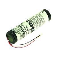 2-Power GPI0002A - Li-Ion, 3.7 V, 2200 mAh, black/white - Zwart, Wit