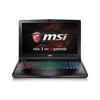 MSI laptop: Gaming GE62VR 6RF (Apache Pro) - Zwart