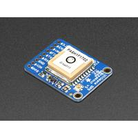 Adafruit GPS ontvanger module: GPS breakout, 66 channel, 10 Hz, -165 dBm, 3.0-5.5 VDC - Blauw