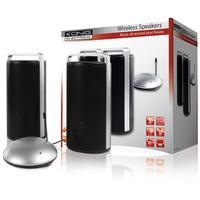 König Speaker: Wireless RF speakers, 863 MHz - Zilver