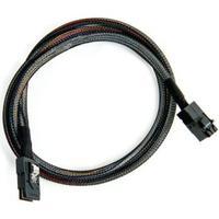 Adaptec kabel: ACK-I-HDmSAS-mSAS-1M - Zwart