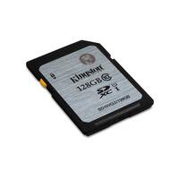 Kingston Technology flashgeheugen: Class 10 UHS-I SDXC 128GB - Zwart, Grijs