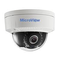 MicroView beveiligingscamera: MVID-02IR-E - Zwart, Wit