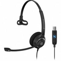 Sennheiser headset: SC 230 USB - Zwart