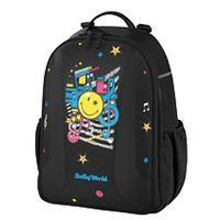Herlitz rugzak: School backpack be.bag airgo SmileyWorld Pop - Zwart
