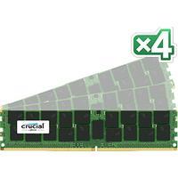 Crucial RAM-geheugen: 64GB (16GB x 4) DDR4 PC4-17000 ECC 1.2V