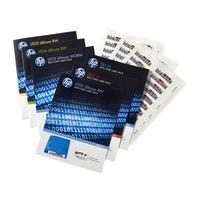 Hewlett Packard Enterprise : LTO-7 Ultrium RW Bar Code Label Pack - Zwart, Wit (Sparepart)
