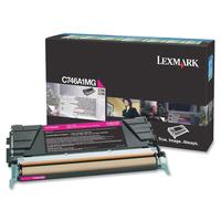 Lexmark cartridge: C746, C748 7K magenta retourprogr tonercartr