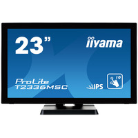 "Iiyama touchscreen monitor: ProLite ProLite T2336MSC-B2 - 23"", 1920 x 1080, IPS LED, 16:9, 250 cd/m², 5 ms - Zwart"