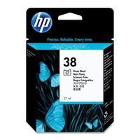 HP inktcartridge: 38 originele zwarte fotocartridge - Foto zwart