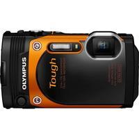 Olympus digitale camera: STYLUS TG-860 - Zwart, Oranje