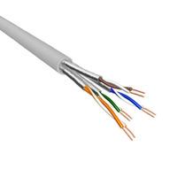 Eeconn netwerkkabel: Cat.6A U/FTP Kabel, Massief, AWG23, LSZH, Lichtgrijs, 500m