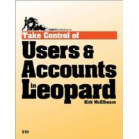 "TidBITS Publishing algemene utilitie: TidBITS Publishing, Inc. Take Control of Users "" Accounts in Leopard - eBook ....."