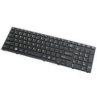 ASUS Keyboard (Nordic), 348mm, Isolation, Black Notebook reserve-onderdeel - Zwart