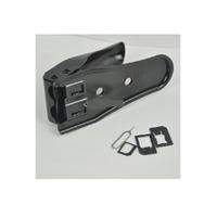 MicroMobile Dual SIM Cutter For iPhone 5/4S/4 SIM/flash memory card adapter - Zwart