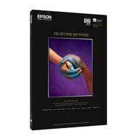 Epson papier: Velvet Fine Art Paper, DIN A3+, 260g/m², 20 Vel