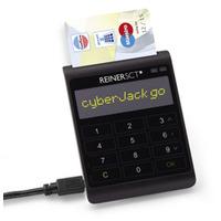 Reiner SCT smart kaart lezer: cyberJack go - Zwart