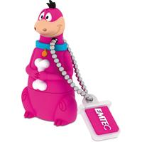 Emtec USB flash drive: Dino 8GB - Veelkleurig