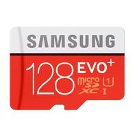 Samsung flashgeheugen: MB-MC128DA - Zwart, Rood, Wit