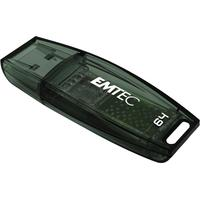 Emtec USB flash drive: C410 64GB - Zwart