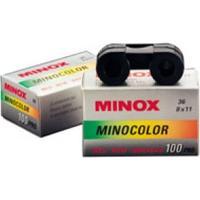 Minox kleurenfilm: Minocolor 100 ISO, 100/21º