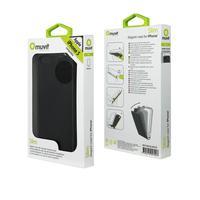 Muvit mobile phone case: Slim iPhone 5 - Zwart