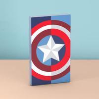 Tribe powerbank: Marvel Captain America Power Bank, 4000mAh - Blauw, Rood, Wit
