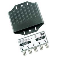 Schwaiger : F - 4 x F, 3 dB, 20 mA, DiSEqC 2.0