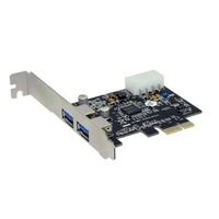 Sedna PCIE USB 3.0 Adapter Interfaceadapter - Zwart