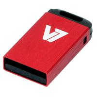 V7 USB NANO STICK 8GB RED