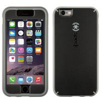 Speck apparatuurtas: iPhone 6 / 6s Plus MightyShell + Faceplate (Black / Gravel Grey / Slate Grey)
