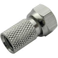 Schwaiger coaxconnector: FST7304 241 - Zilver