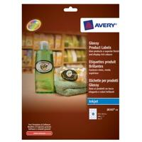 Avery Glossy Product Labels Etiket - Wit