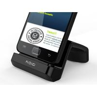 KiDiGi docking station: Desktop Cradle for Samsung / LG Smartphones - Zwart
