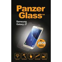 Panzerglass screen protector: Crystal Clear, SGalaxy J7 (2017), Scratch Resistant, Rounded Edges