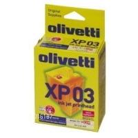 Olivetti printkop: XP03 - Zwart, Cyaan, Magenta, Geel