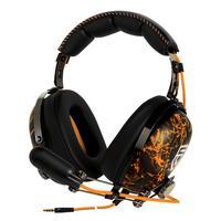 ARCTIC headset: P533 PENTA - Stereo Gaming Headset - Zwart, Oranje
