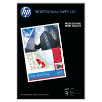 HP papier: Professional Glossy Laser Paper, 120 gsm, 250 vel, A3/297 x 420 mm