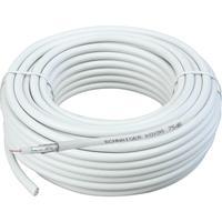 Schwaiger coax kabel: Kabel / Adapter - Wit